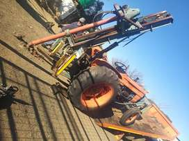 Fait tractor with drill