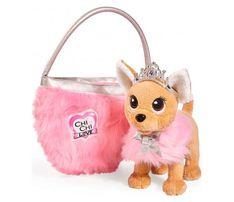 БЕСПЛ.ДОСТАВКА Собачка Chi Chi Love Принцесса с сумкой Simba 589312