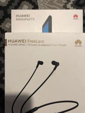 Huawei t5 and free lance headbuds