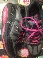 Яркие кроссовки фитнес для похудения, ортопедические, Skechers Shape
