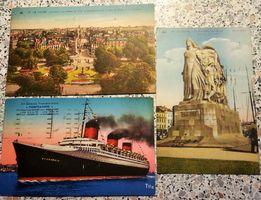 Ретро-открытки 1937 год, винтаж