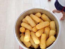 Gerber Lil' Crunchies, кранчи палочки для малышей с 8ми мес.! США.