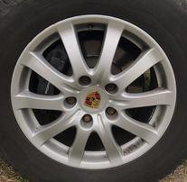 Оригинальные заводские диски для Porsche Cayenne, 4 штуки