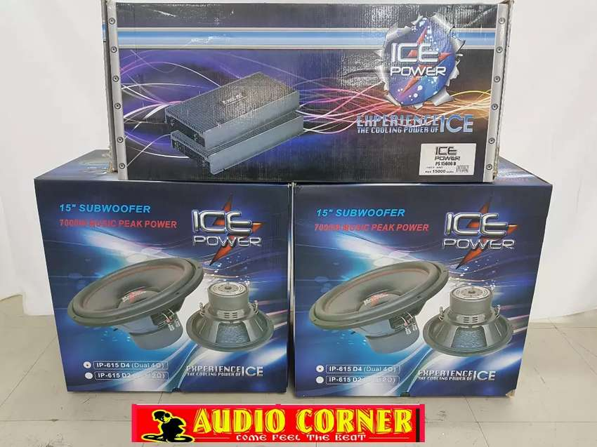 Ice Power Combo Deal Big Sound 0