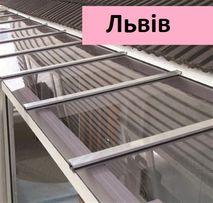 Полікарбонат монолітний 2-15мм - прозорий пластик на дашки