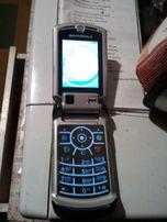 Продам Motorola V3X рабочий, без батареи, тёмно синий.