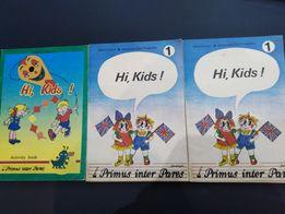 Hi Kids! podręcznik, zeszyt ćwiczeń - angielski