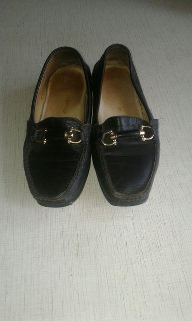 Продам женские кожаные туфли 37 размер Софиевская Борщаговка - изображение 1