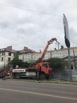 Услуги бетононасосов