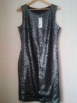 Новое платье вечернее с пайетками коктейльное размер L