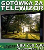 SKUP TELEWIZORÓW gotówka od ręki za TELEWIZOR Lombard BUMERANG Warszaw