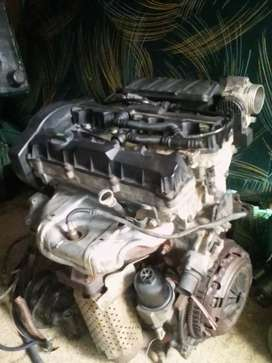 206 peogeot engine with gear box for sale
