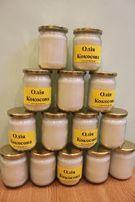 Пищевое и косметическое кокосовое масло холодного отжима сыродавленное