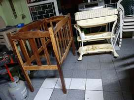 Cot And Bath for sale