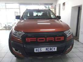 2013 FORD RANGER  WILDTRACK 3.2 4X4 DOUBLE CAB AUTOMATIC