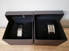 Orient Watch - His and Her's Set (Rado-like). Brand New.