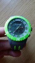 zegarek sportowy męski COLORI Anadigi 48 Grey Neon Green