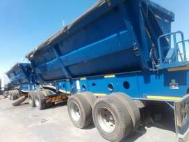 34 TON SIDE TIPPER TRUCK FOR HIRE