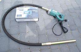 Wibrator zagęszczarka do betonu 1350W + Buława