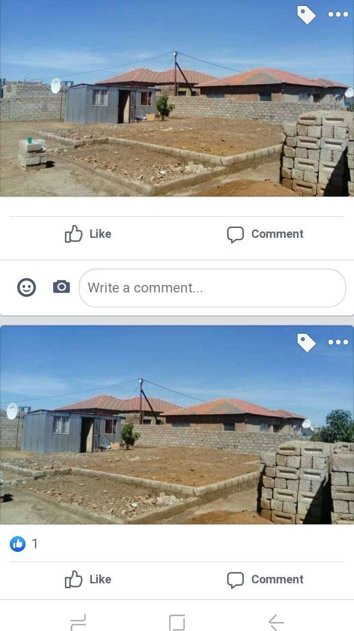 vacant stand with 1xroom shack @ slovo gardens mabopane for sale 0