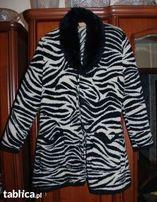 Sweter zebra, roz. XL