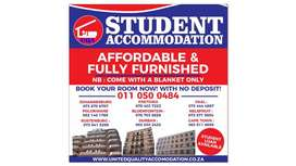 student accommodation in vereeniging