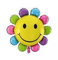 Balon foliowy kwiatek na hel- 61cm