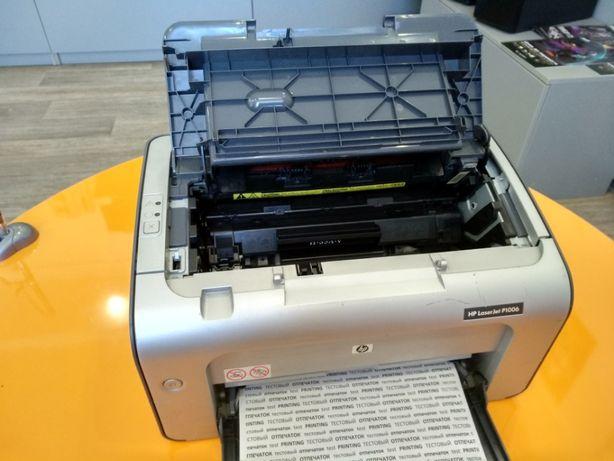 Принтер лазерный HP LaserJet P1006 Кривой Рог - изображение 3