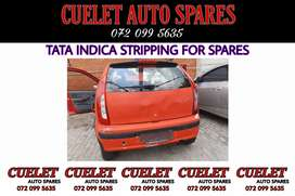 Tata Indica breaking up for used parts