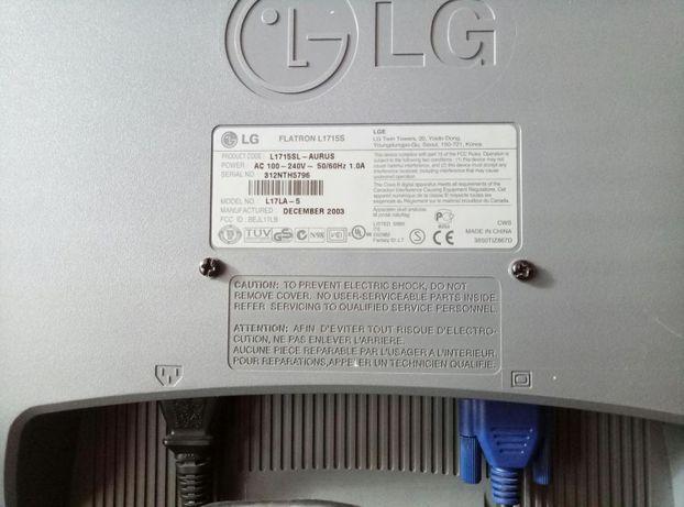 Монитор LG flatron l1715s Днепр - изображение 2