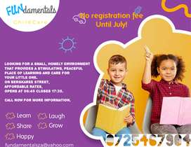 Childcare Facility Opening in July 2021