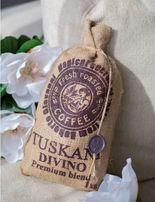 Роскошный Кофе в зернах из Италии! Tuskani DIVINO Зернова кава 1 кг