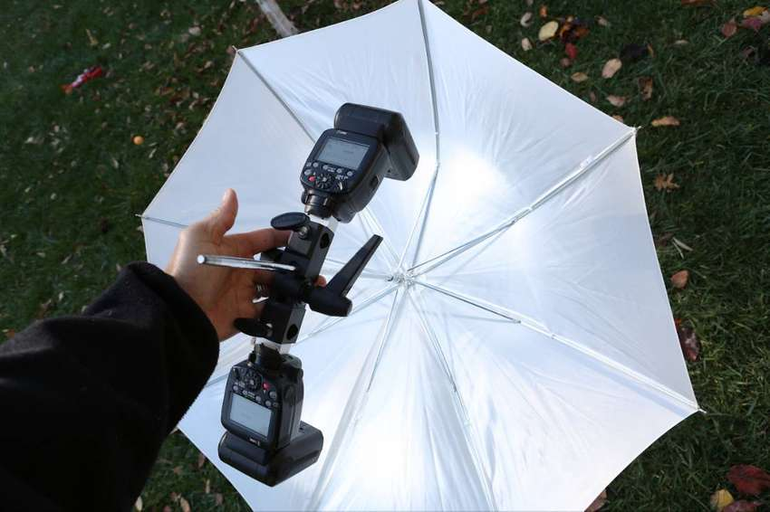 Phottix Para-Pro Shoot-Through Umbrella – 72in/ 182cm 0