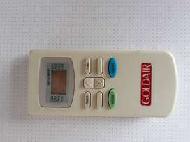 Remote for Goldair AIRCON. In working condition.