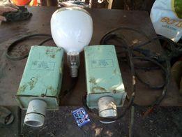 Облучатель (светильник) тепличный + лампа