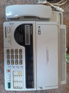 Panasonic answering system with facsimile