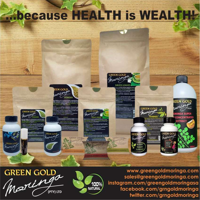 A-GRADE MORINGA PRODUCTS STRAIGHT FROM FARM TO YOU!