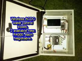 Water control wireless boxes