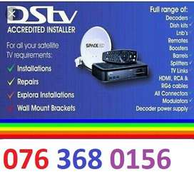 Signal lost or no signal repair due to bad weather New Explora decoder