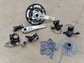 Shimajo Deore XT 9x3 Complete Groupset