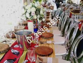 Soweto White, Traditional weddings, Party,  Events decor