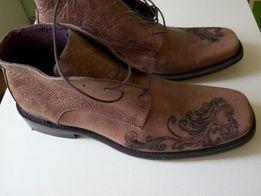 Ботинки демисезон, кожа Мексика, НОВЫЕ