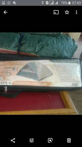 Four sleeper Campmaster Tent