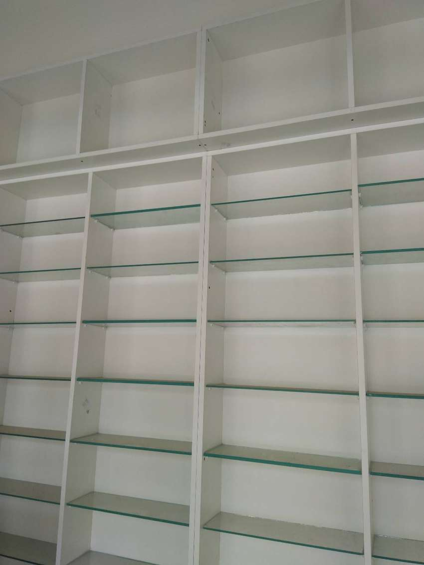 pharmacy shelves 0
