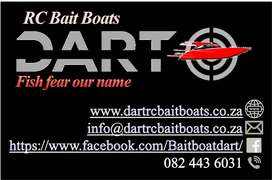 New Dart RC Baitboats/Spares