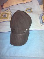 Кепка бейсболка шапка теплая зимняя с козырьком и ушками. Puma. 54-56.