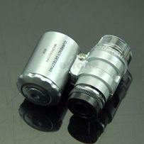Ювелирный микроскоп 60х, лупа с LED подсветкой + ультрафиолет!!!