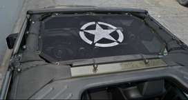 JK Half Size Sun Shade Net with Star Logo for 2Dr and 4Dr
