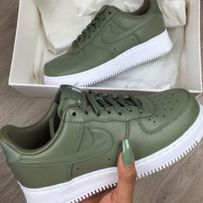 Buty Nike Air Force One LOW AF1 Green 36/37/38/39/40/41/42/43/44/45