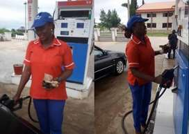 Petrol attendants and computerized cashiers